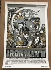 Tyler Stout IRON MAN 2 Variant Mondo Marvel Poster Screen Print Tony Stark SIGN