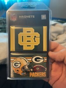 Greenbay Packers 2 Pack Magnet Set NFL