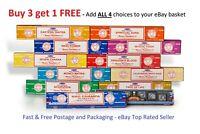 Incense Sticks Satya Insence Sticks Buy 3 get 1 Free Insense Joss Sticks frm 99p