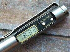 RARE  Watch Elektronika 5 (18391)  USSR Luxury Digital Pen