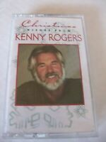 CHRISTMAS WISHES FROM KENNY ROGERS CASSETTE 1995