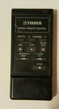 Original Fisher RVR 810 Remote Tested Free Shipping