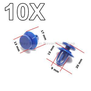 10X Door Card Trim Clips, Door Trim Panel Retaining Clip for Vauxhall Opel, GM