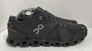 On Cloud X Road Running Shoes Men's 8.5 Swiss Engineering Zero-Gravity Black