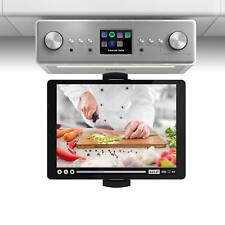 Küchen Unterbauradio Bluetooth Internetradio DAB+ Digitalradio Tablethalterung