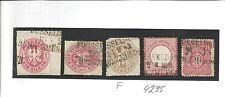 Pr BP / DÜSSELDORF / HOLZMÜNDEN 5 L3 auf Briefstück Pr. 16, 16, 18a, DR 19 + DR