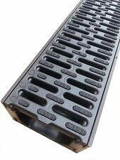 ACO Hexaline 2.0 Entwässerungsrinne ANTIRUTSCH Kunststoff 1m TOP Qualität 319210