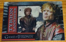 Game of Thrones Series 1 Trading Cards Rittenhouse Shadowbox Tyrion Lannister