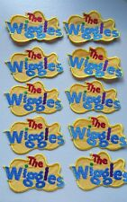Embroidered WIGGLES LOGO MOTIF x 10