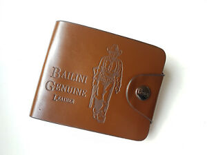 New Men's Boys' Classic Leather Pockets Credit/ID Cards Holder Purse Wallet