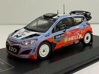 Hyundai i20 WRC Thierry Neuville Nicolas Gilsoul Sweden 2015 1:43 Scale