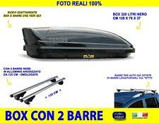 Box tetto auto portatutto Saab 9 7 X 2006>portapacchi 320 litri barre bagagli in
