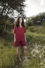 Cocoon Women's Adventure Travel Nightwear / Pyjamas - Medium, Raspberry