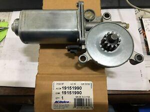 GENUINE GM Power Window Motor ACDelco GM Original Equipment 19151990