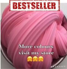Pink fluffy slime 90 Grams borax free homemade with 💕 UK Seller 🇬🇧 FREE POST