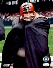Signed 8x10 GENE HICKERSON CLEVELAND BROWNS Autographed photo - w/ JSA COA