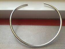 Sterling Silver Boho Choker/collar Necklace