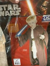 Star Wars Deluxe Hooded Jedi Robe Child Costume Size M 8-10