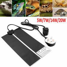 Reptile Heat Pad Pet Warming Heater Brooder Incubator Heating Mat 5/7/14/20/28W