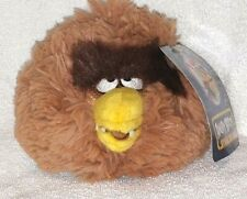 Star Wars Angry Birds Plush 5 Inch CHEWBACCA NWT