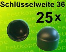 Stahlgewinde Kugelkopf Hebelknopf Schaltknauf 25 x Kugelknopf M6 Ø25mm schwarz