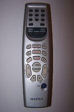 Matsui minidisc HiFi Télécommande Pour MDH961
