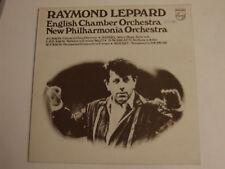 RAYMOND LEPPARDHANDEL SCARLATTI MOZART BACH LP Philips