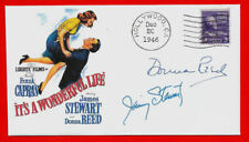 It's A Wonderful Life Xmas Movie Featured on Collector's Envelope *1373