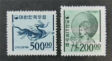 nystamps Korea Stamp # 373.374A Mint OG NH $55