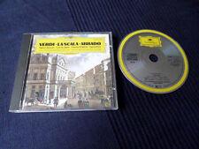 CD VERDI La Scala Opera Choruses Claudio Abbado DG DGG PDO Opernchöre 1975 Aida