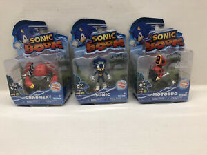 Sonic Boom 3 Inch Single Pack Figure Set Of 3