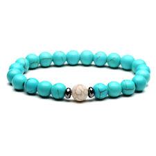 8mm Distance Bracelets Energy Healing Stone Beads Bracelet Couple Jewelry 210