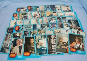 1977 STAR WARS BLUE Trading Cards 2 - 66