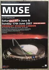 MUSE - WEMBLEY CONCERT - black holes full page PROMO AD (poster box lp cd vinyl)