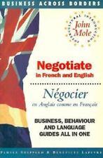 Negotiate = Negocier: In French and English = En Anglais Comme En Francais