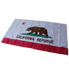 US New California Republic Flag Flag 3X2FT 5X3FT 6X4FT Bear Lone Star JP Gillis