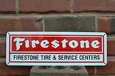FIRESTONE TIRES SIGN SERVICE CENTER Tire Shop Advertising Mechanic Parts