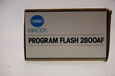 Minolta Program Flash 2800AF OVP