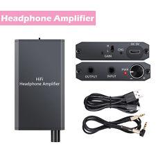 Portable Mini Audio HiFi Headphone Amplifier Earphone Stereo AMP For phone NEW