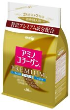 NEW Meiji Amino Collagen Premium 214g, Refill JAPAN