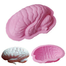 Halloween Brain Silicone Cake Mold Pan Muffin Bread Bakeware Tray Baking Mould