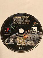 Star Wars: Rebel Assault II -- The Hidden Empire Playstation Disc 2 Disc Only