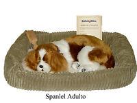 PERFECT PETZZZ - SPANIEL ADULTO cm.35 - Il cucciolo che respira  - Peluche