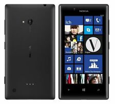 Nokia Lumia 720 Black Schwarz 8GB WIFI NFC Windows Phone Ohne Simlock NEU
