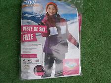 Veste Ski Fille 6/8 ans CRIVIT sports 122/128 cm Belles Couleurs Vives NEUVE ...