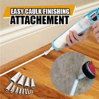 Caulking Finisher stainless steel Sealant Nozzle Glue Remover Scraper Caulking
