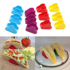 12Pcs Taco Holders Mexican Food Wave Shape Rack Stand Kitchen Cooking Tools EL