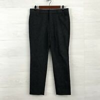 Banana Republic SZ 4 Sloan Fit Ankle Crop Length Flat Front Trouser Dress Pants