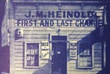 Vtg JM Heinold First & Last Chance Beer Bar Oakland CA Postcard Unposted SF Bay