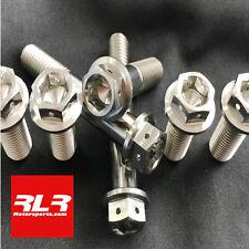4 Titanium dual drive bolts caliper mount honda suzuki yamaha kawasaki M10x70